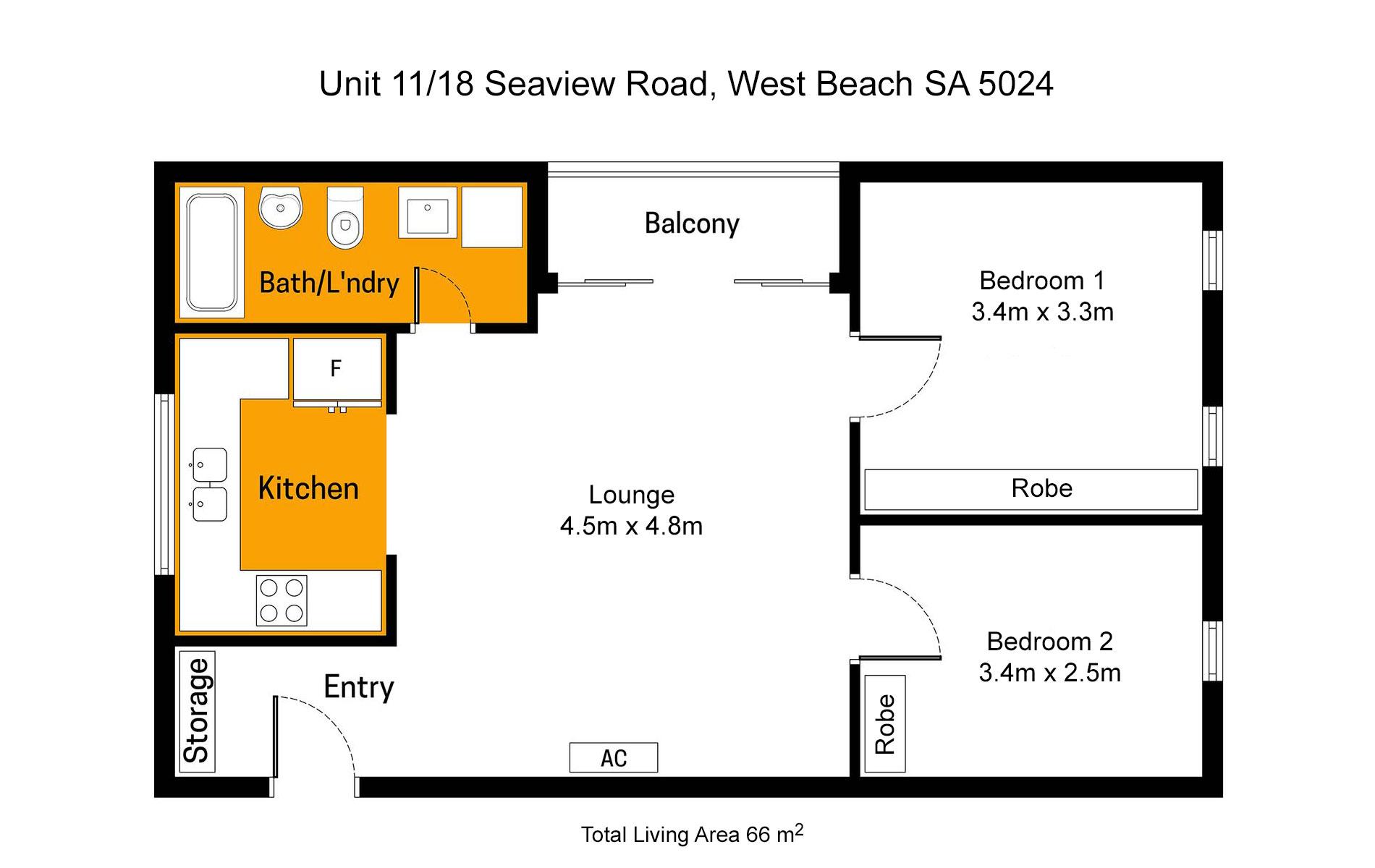 Unit 11/18 Seaview Road