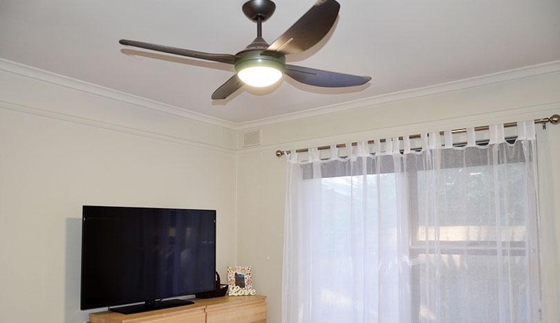 Rental Properties Kensington Park | Ceiling Fan