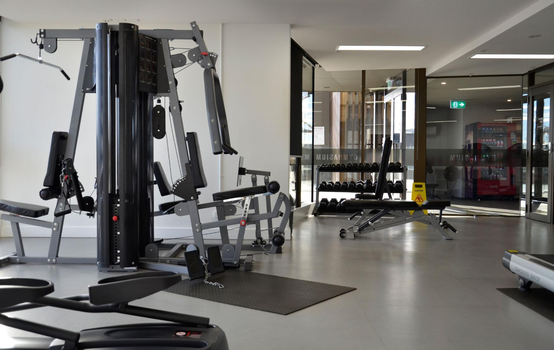 Vue On King William Gym | Rental Properties Adelaide