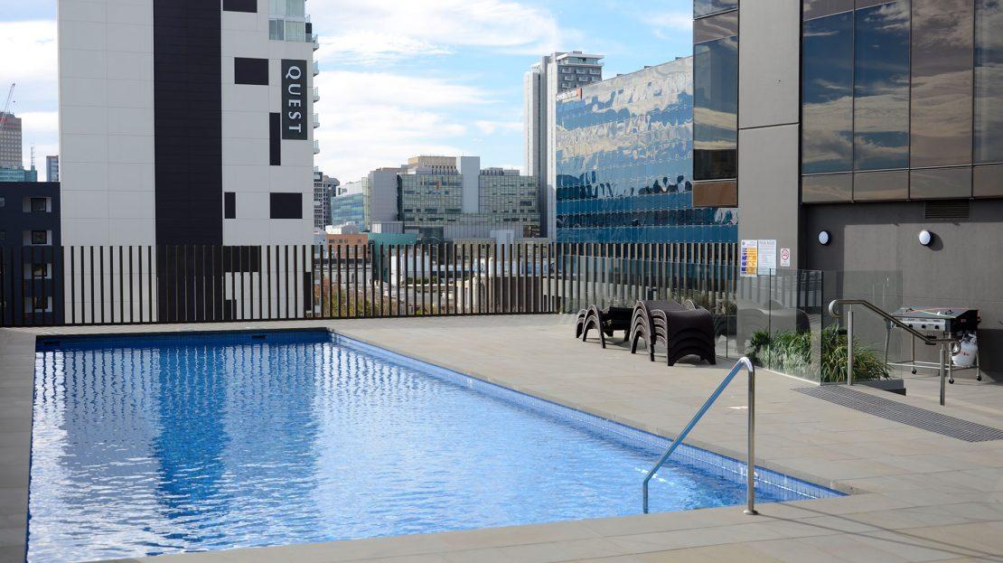 Vue On King William | Rental Properties Adelaide | Pool