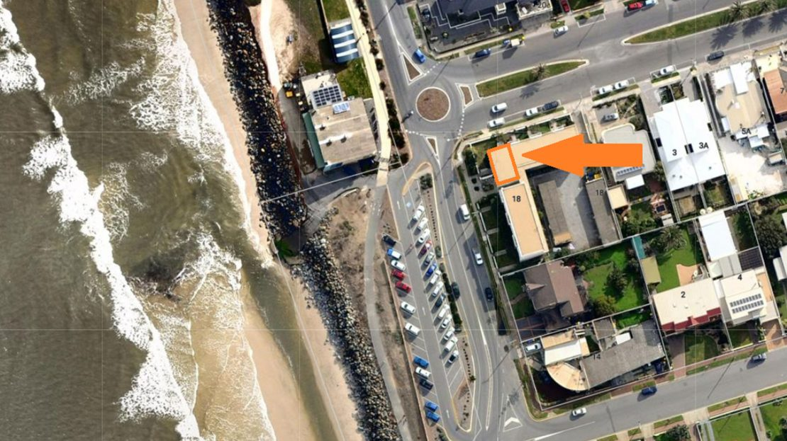 Units For Rent West Beach   Arial View